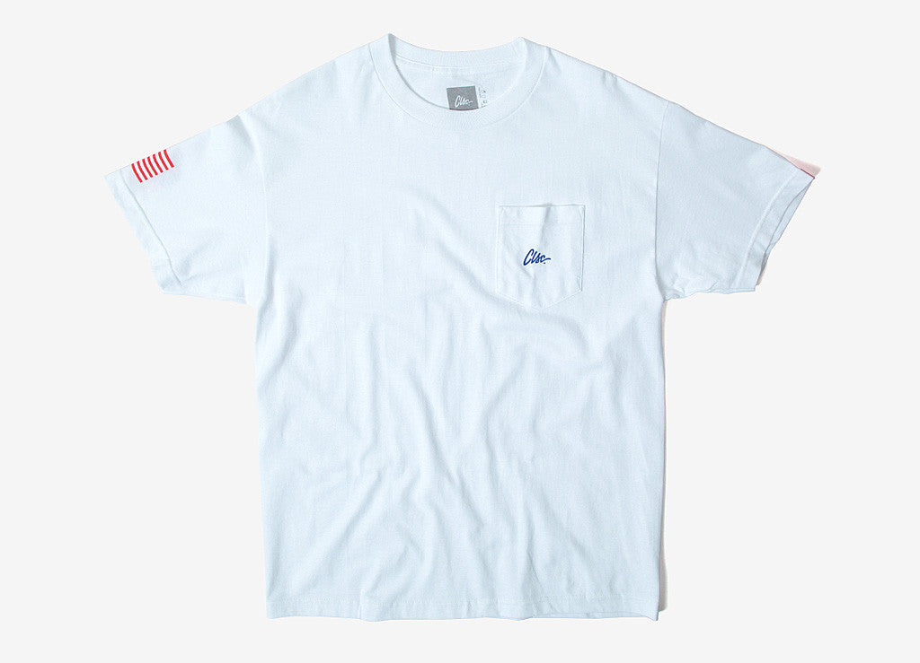 CLSC Script Pocket T Shirt - White