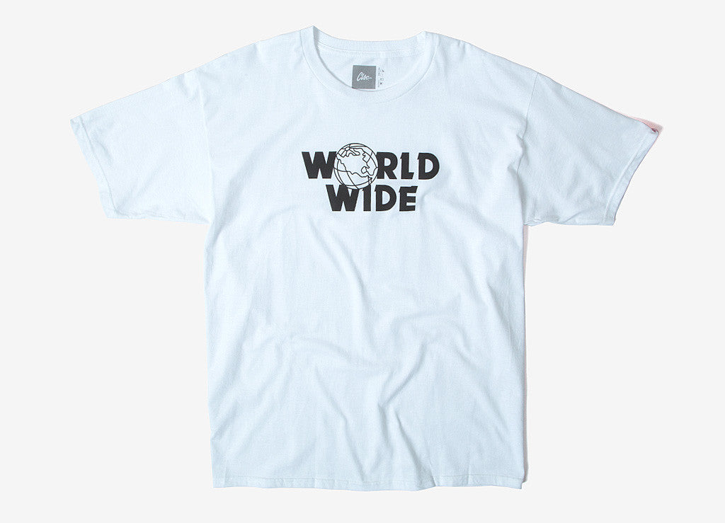 CLSC Word Wide T Shirt - White