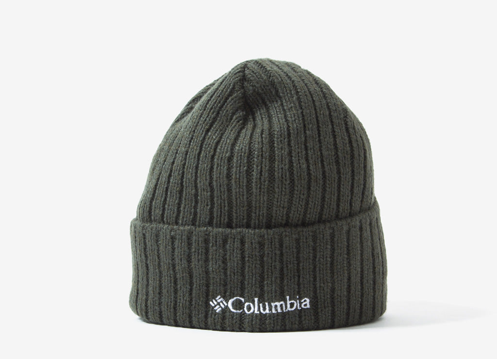 Columbia Watch Cap II Beanie - Gravel/Surplus Green Marl