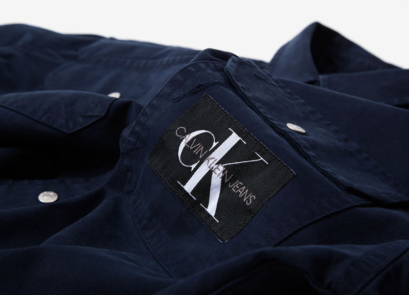 Calvin Klein Archive Iconic Utility Shirt - Night Sky