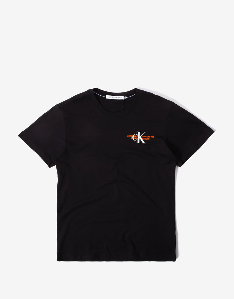 Calvin Klein CK Urban Graphic T Shirt - CK Black