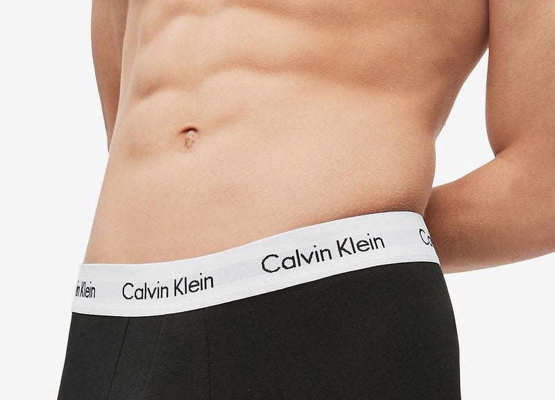 Calvin Klein 3 Pack Trunks - Black/White