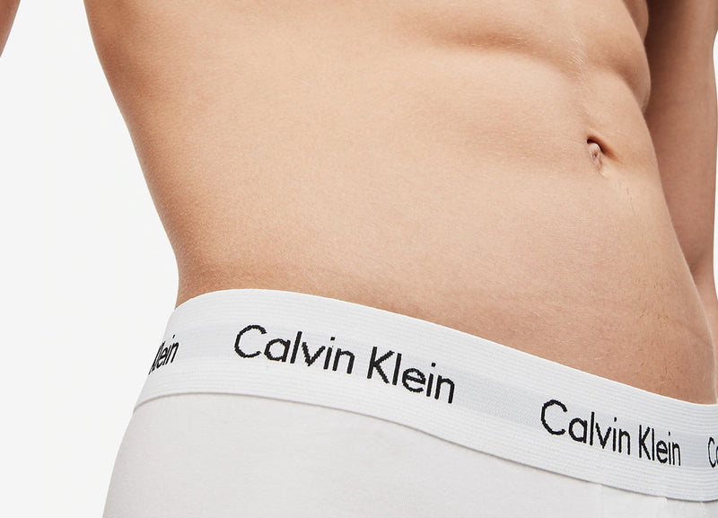 Calvin Klein 3 Pack Trunks - Black/White/Grey