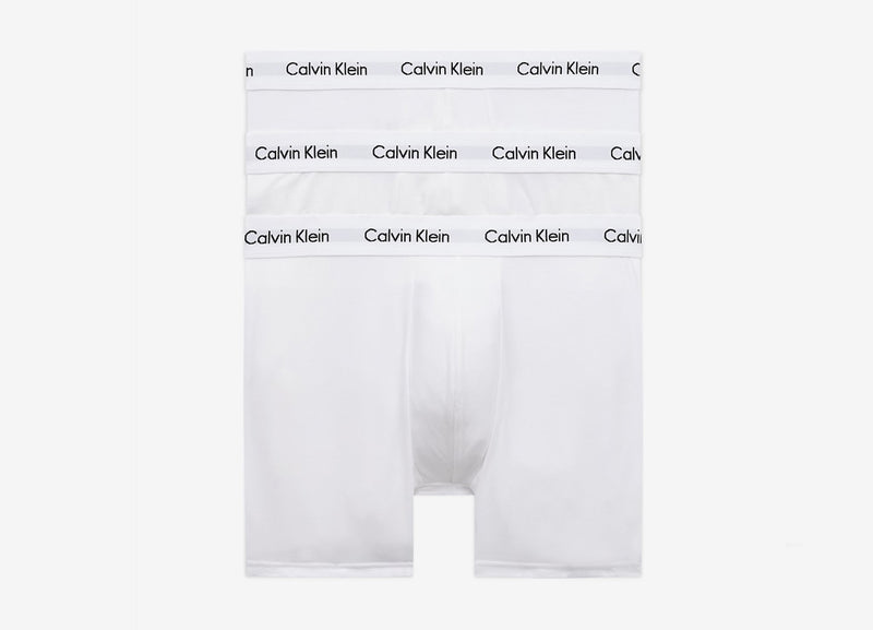 Calvin Klein 3 Pack Trunks - White