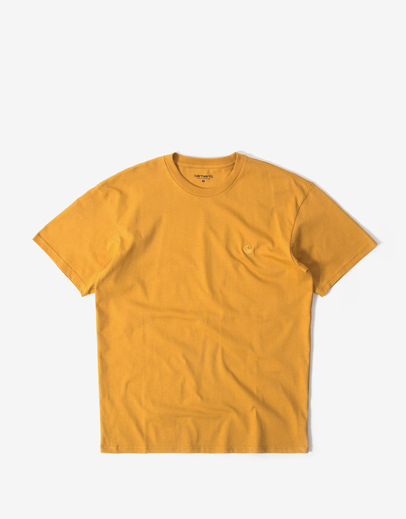Carhartt Chase T Shirt - Winter Sun/Gold