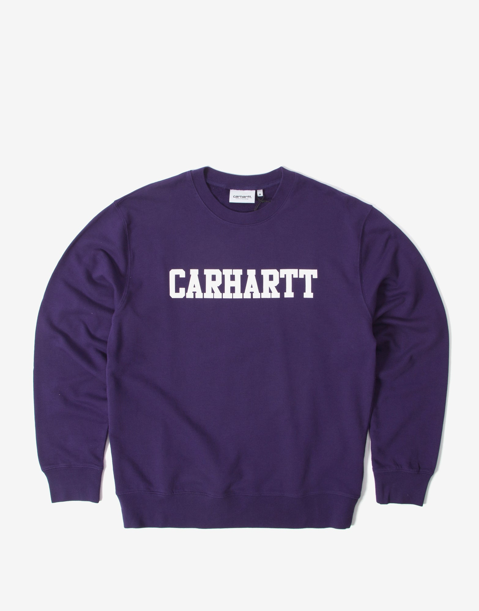 Carhartt College Sweatshirt - Royal Violet/White