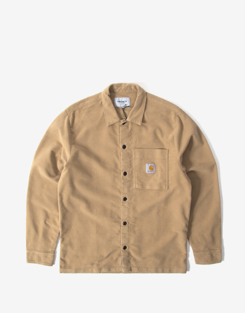 Carhartt Holston Shirt - Leather Rinsed