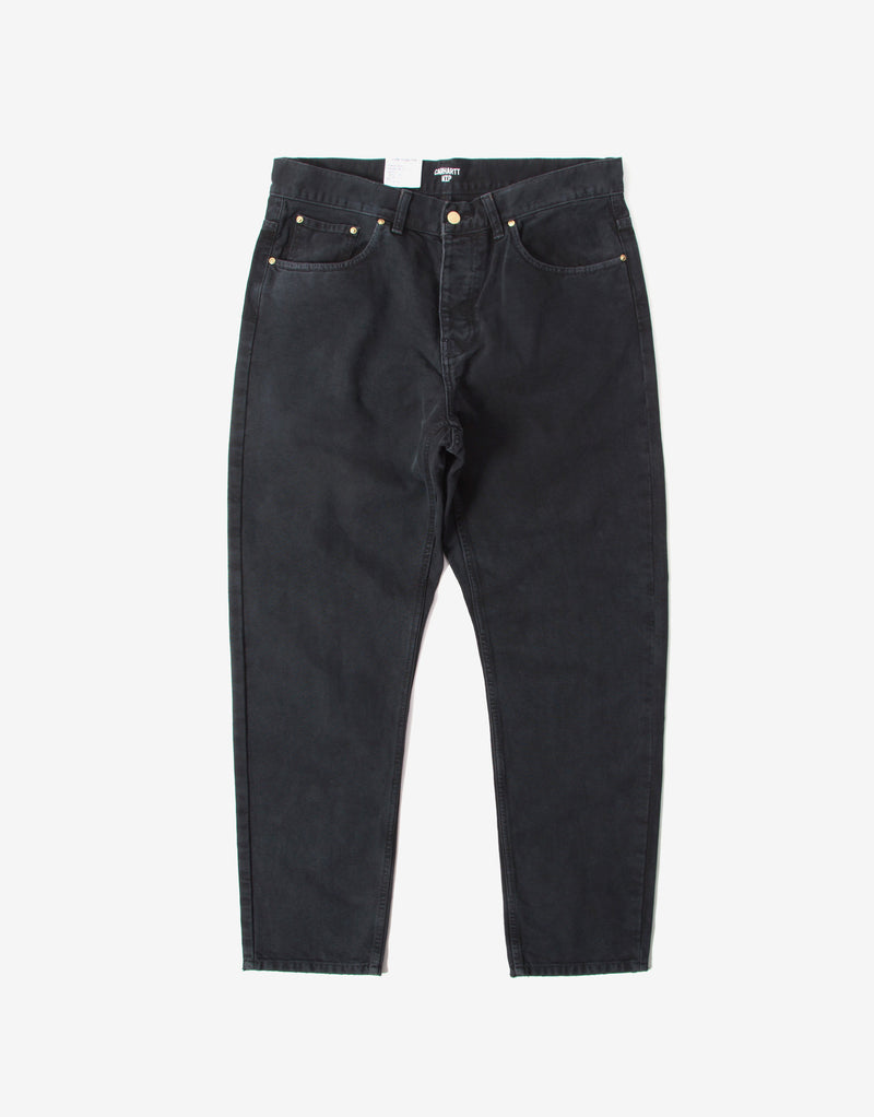 Carhartt Newel Pant - Black Worn Canvas