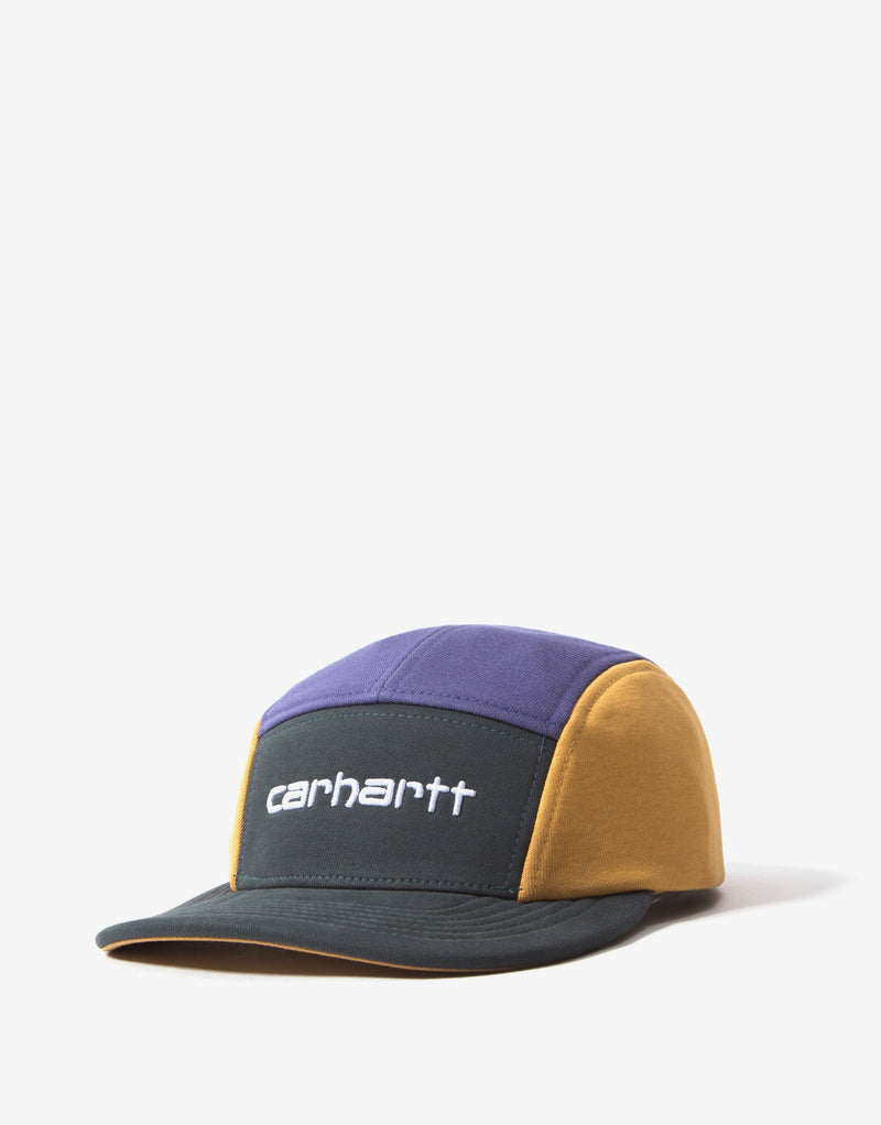 Carhartt Tricol Cap - Dark Teal/Cold Viola/Winter Sun