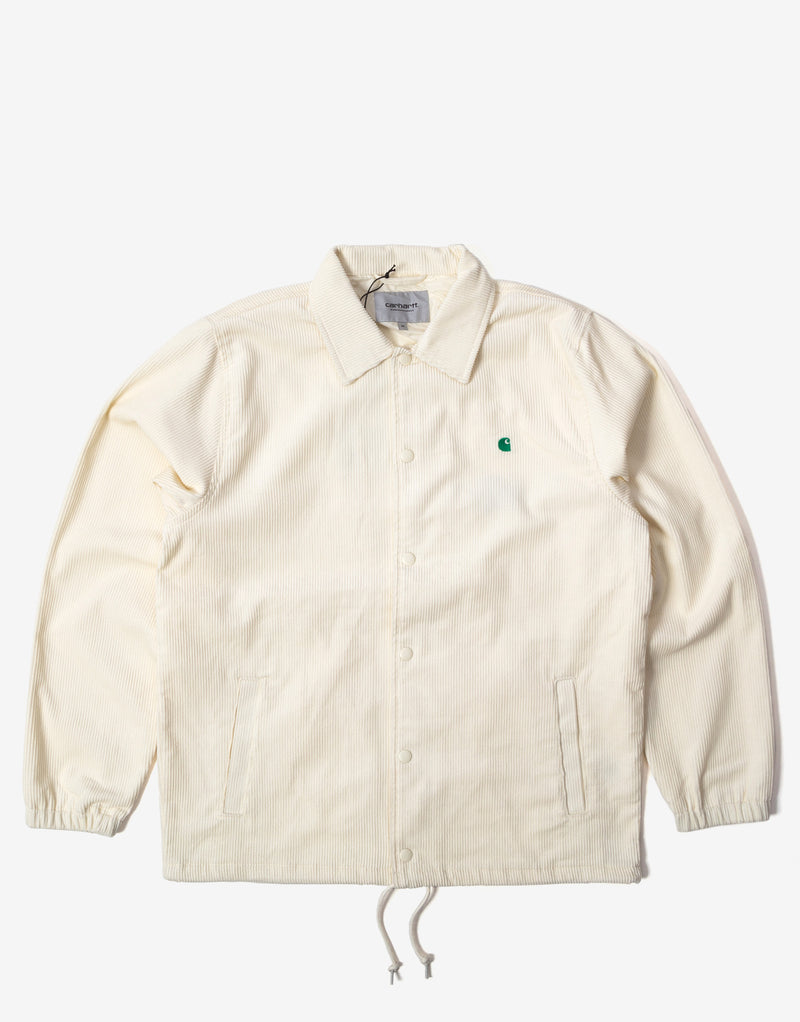 Carhartt WIP Corduroy Coach Jacket - Wax/Kingston