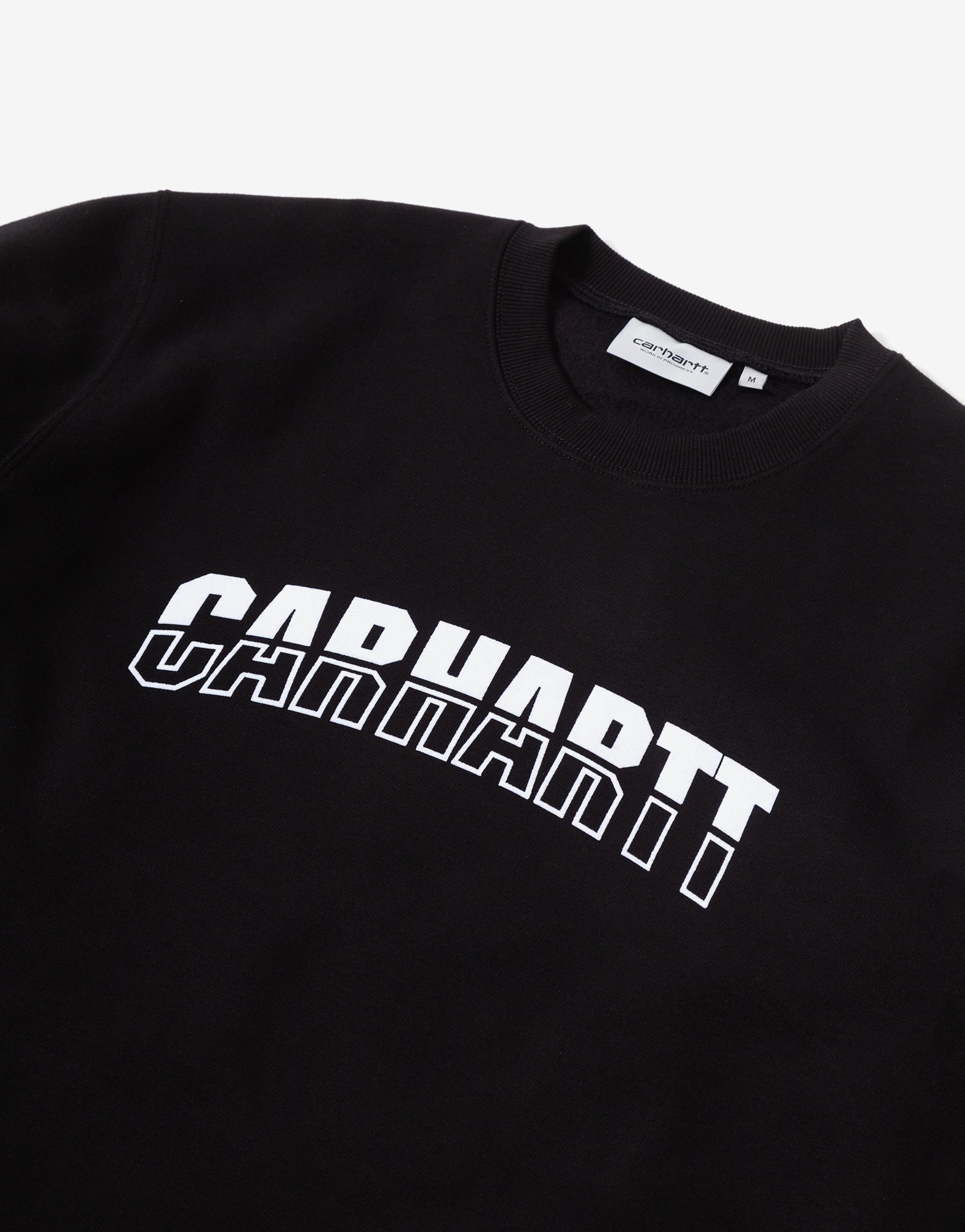 Carhartt WIP District Sweatshirt - Black/White