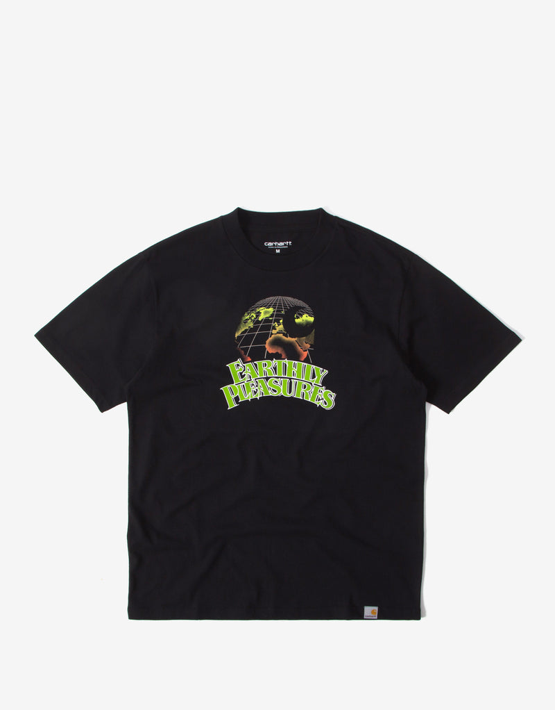 Carhartt WIP Earthly Pleasures T Shirt - Black