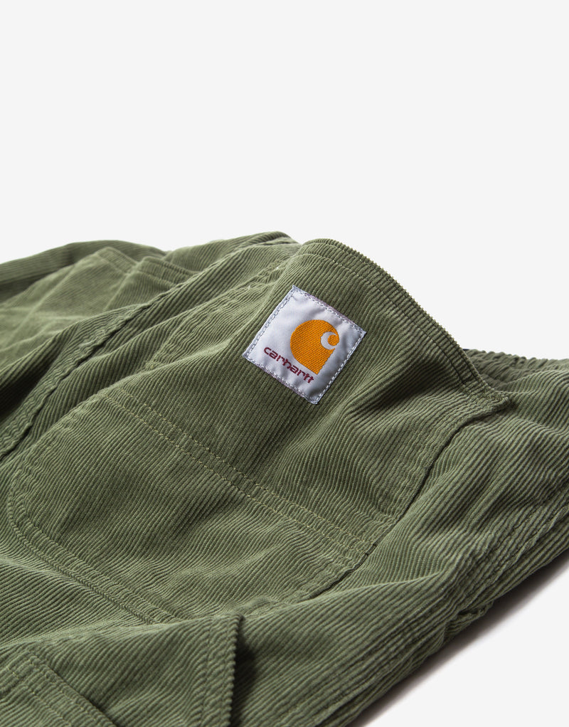 Carhartt WIP Flint Pant - Dollar Green Rinsed