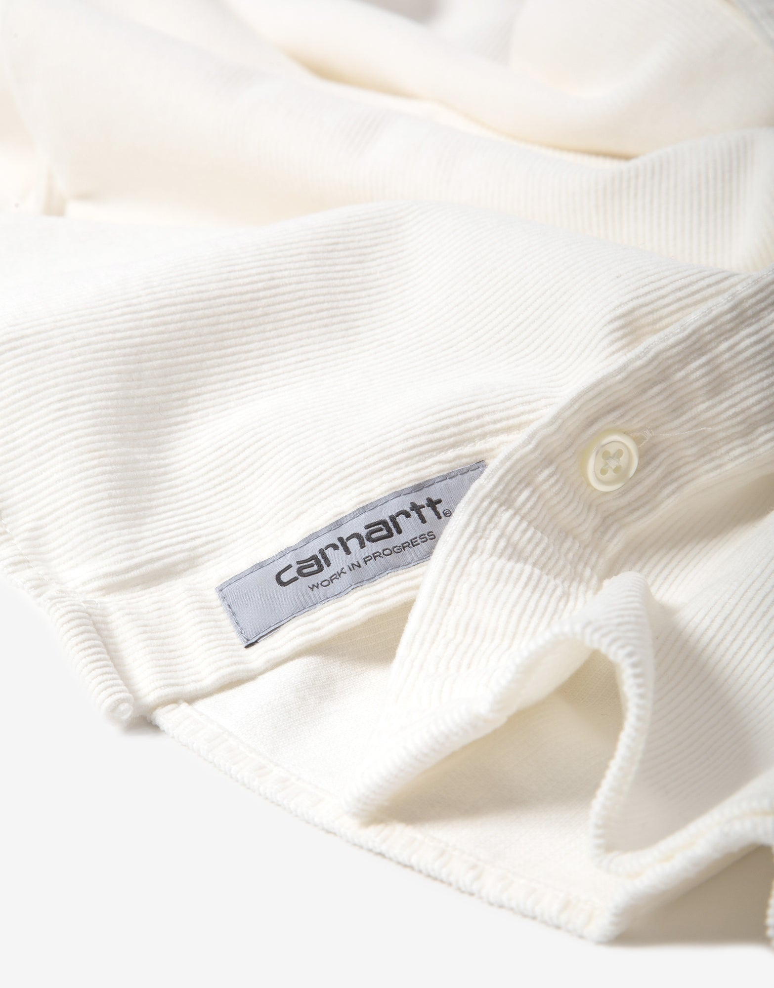 Carhartt WIP Madison Fine Cord Shirt - Wax/Kingston
