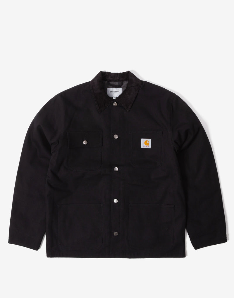 Carhartt WIP Michigan Chore Coat - Black Rigid
