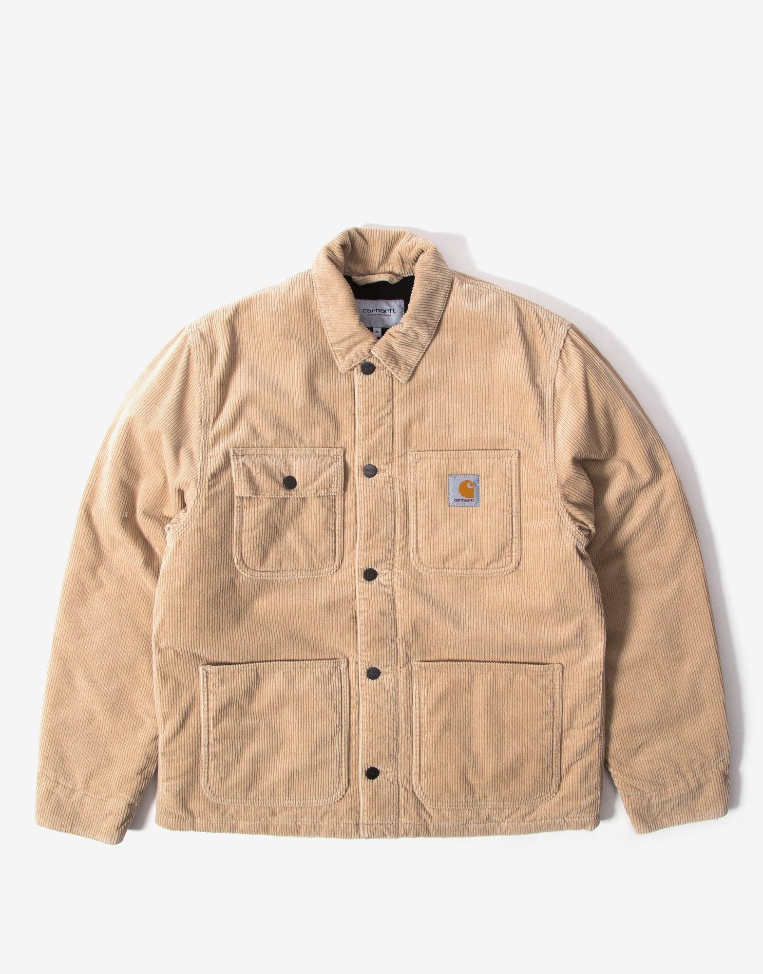 Carhartt WIP Michigan Chore Coat - Wall Rinsed