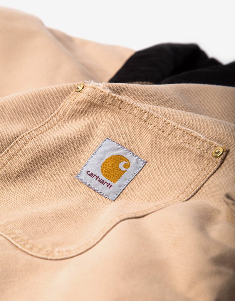Carhartt WIP OG Chore Coat - Dusty Hamilton Brown/Black
