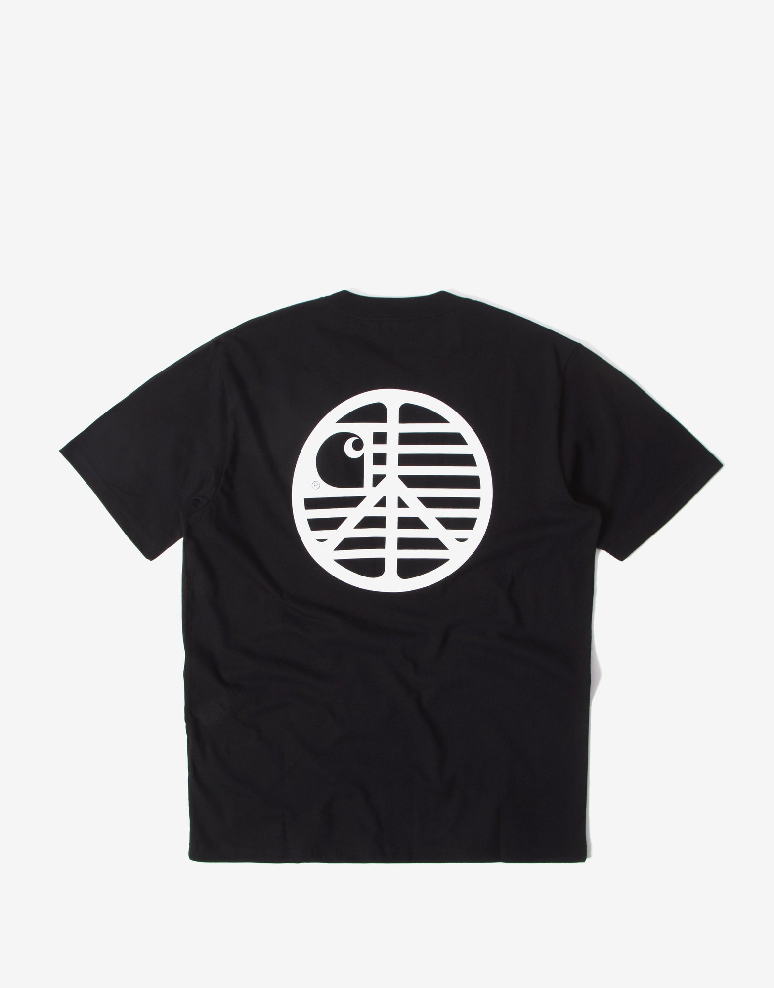 Carhartt WIP Peace State T Shirt - Black/White