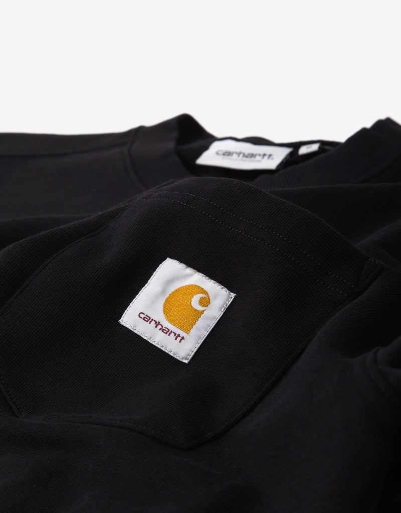 Carhartt WIP Pocket Sweatshirt - Black