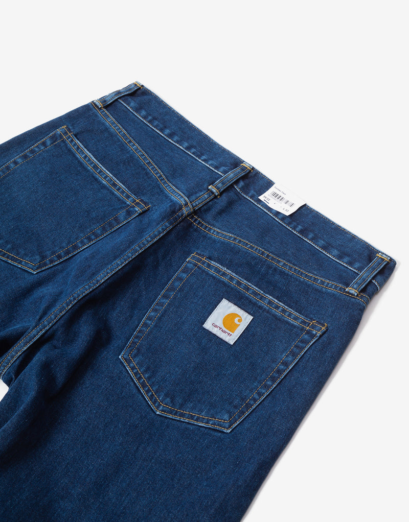 Carhartt WIP Pontiac Pant - Blue Stone Washed
