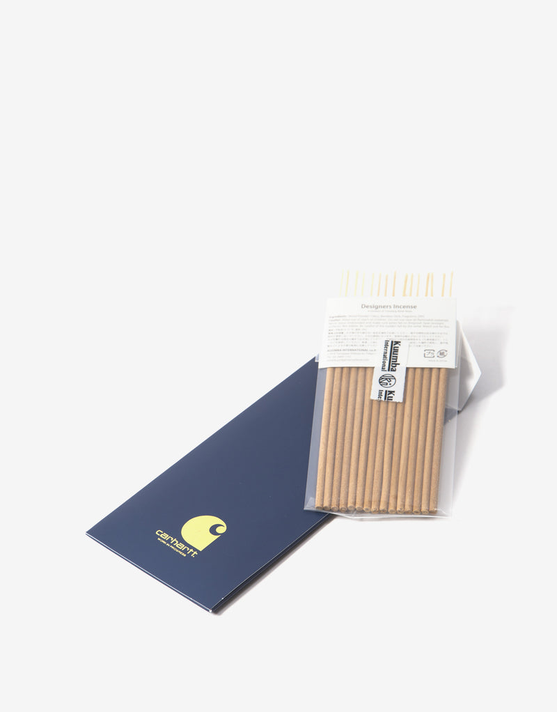 Carhartt WIP x Kuumba International Fortune Mini Incense Sticks - Corse/Gold