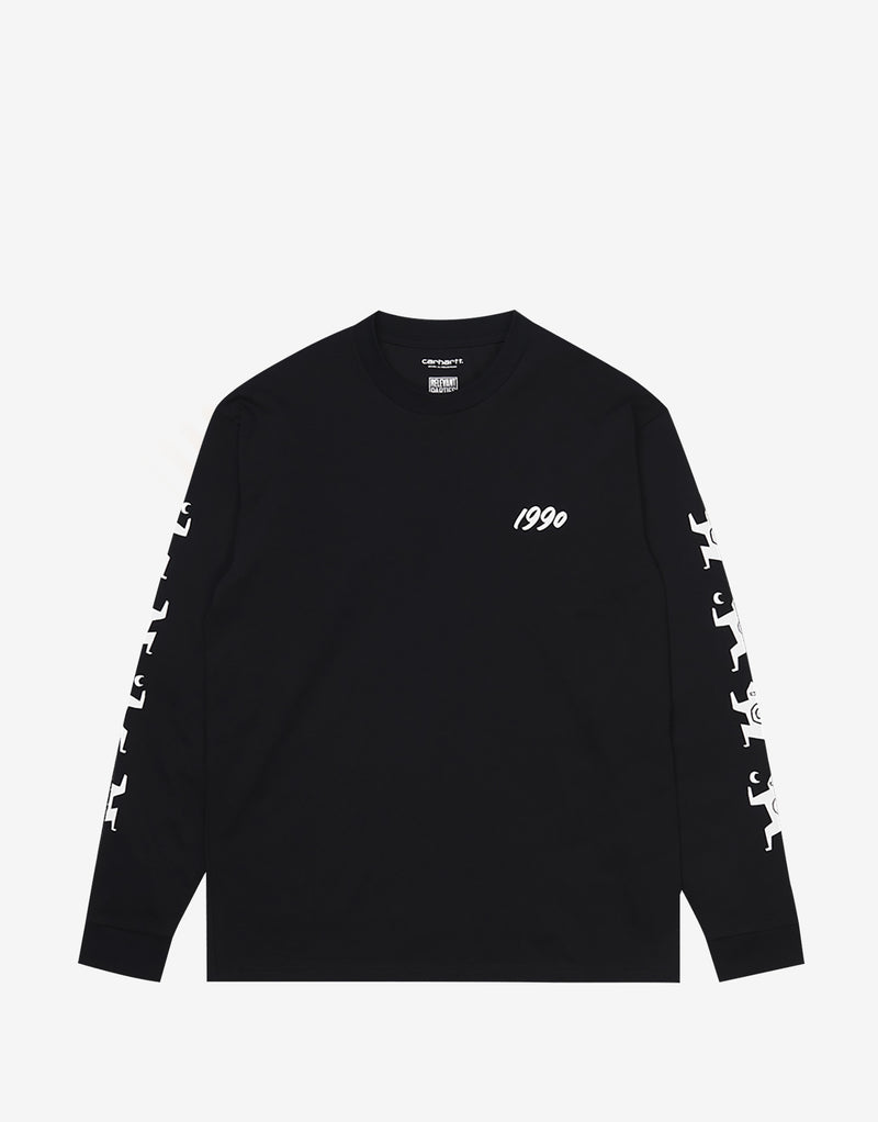 Carhartt WIP x Relevant Parties Ninja Tune T Shirt - Black/White
