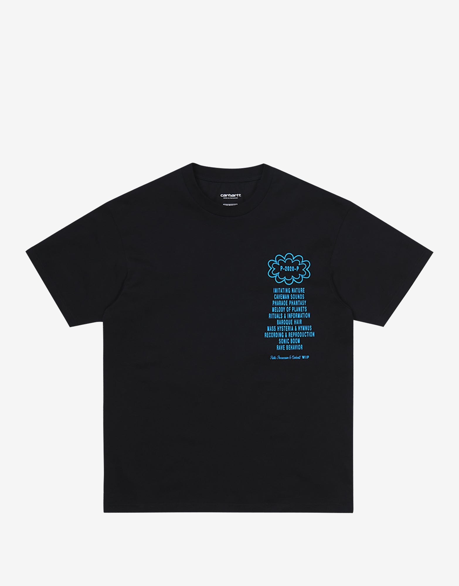 Carhartt WIP x Relevant Parties Public Possession T Shirt - Black/Blue