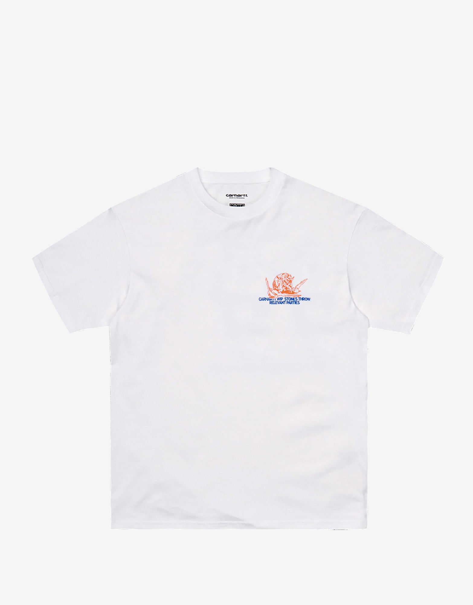 Carhartt WIP x Relevant Parties Stones Throw T Shirt - White