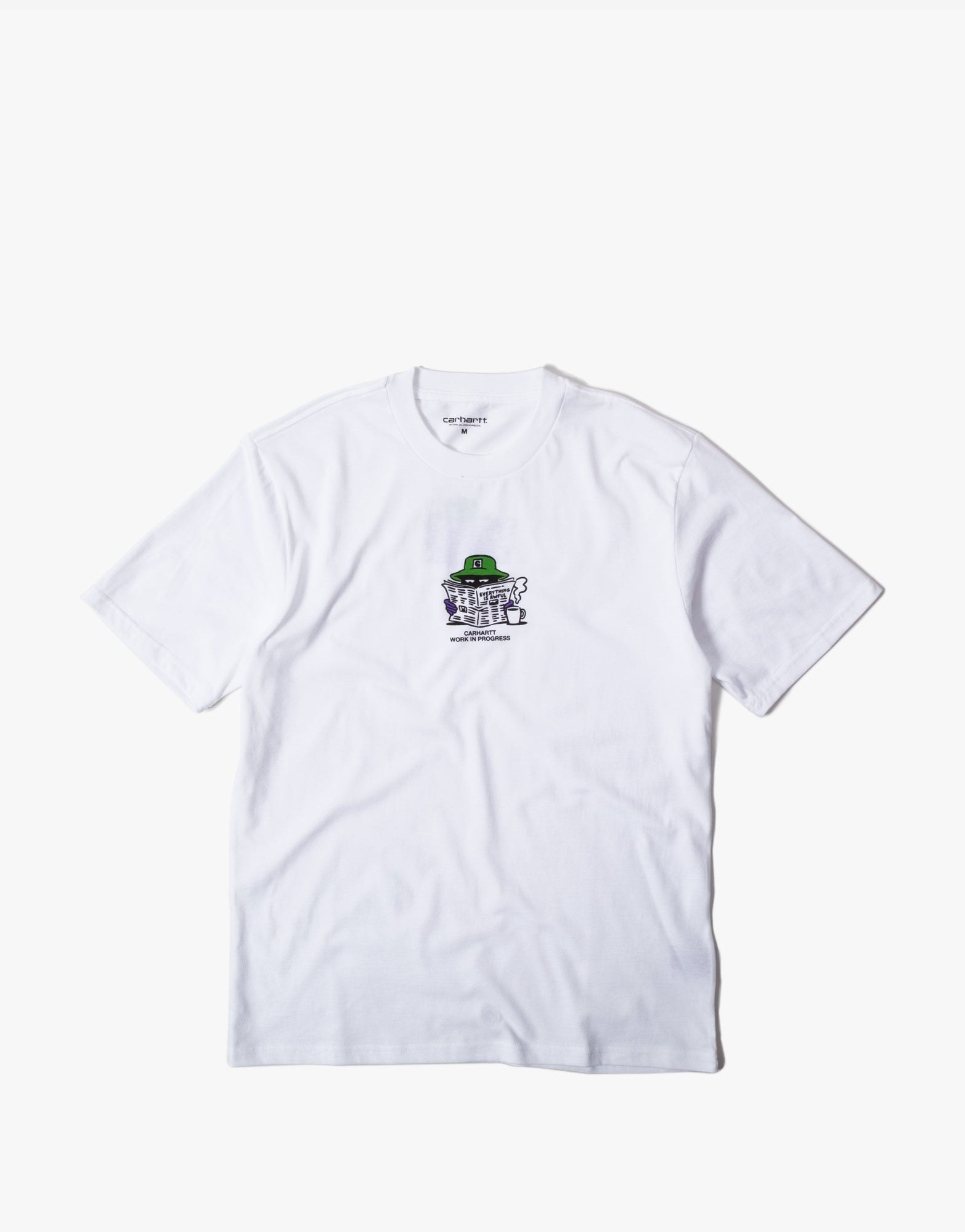 Carhartt Everything Is Awful T Shirt - White