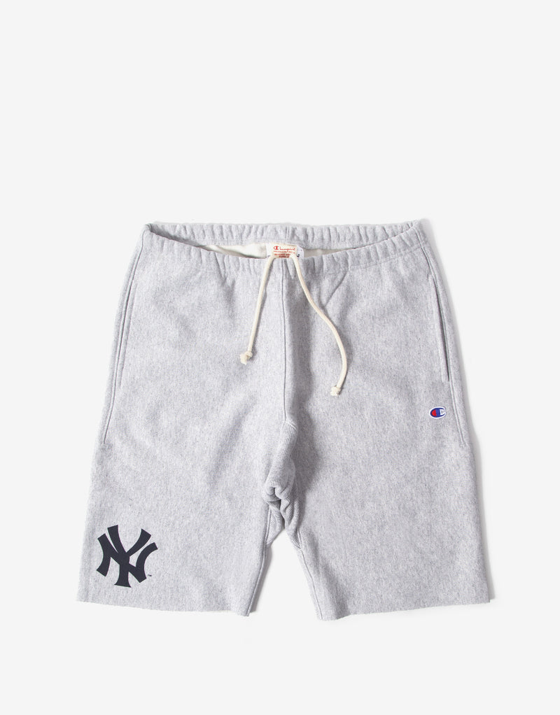 Champion Bermuda NY Shorts - Light Oxford Grey