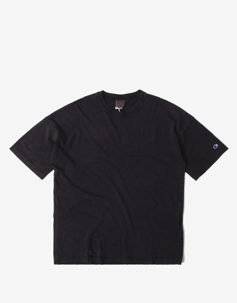 Champion Crewneck T Shirt - Black