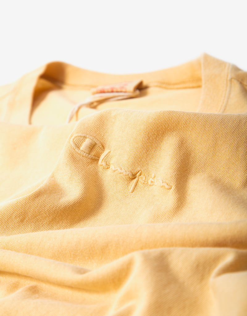 Champion Crewneck T Shirt - Tan