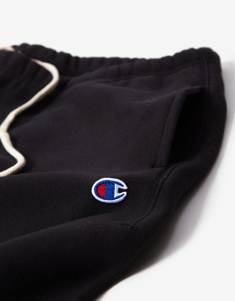 Champion Elastic Cuff Pants - Black