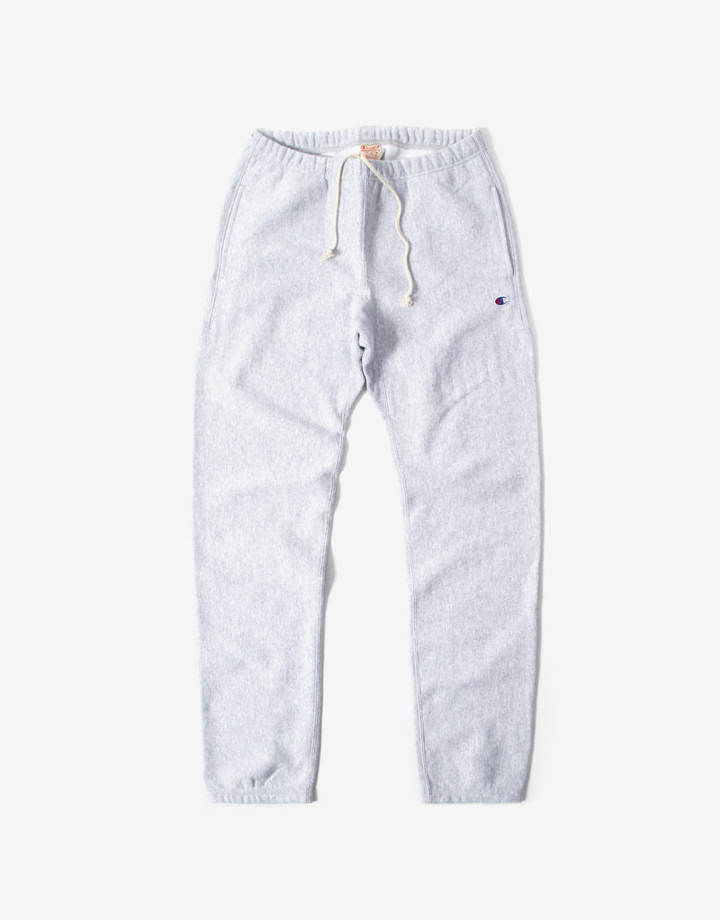 Champion Elastic Cuff Pants - Light Oxford Grey