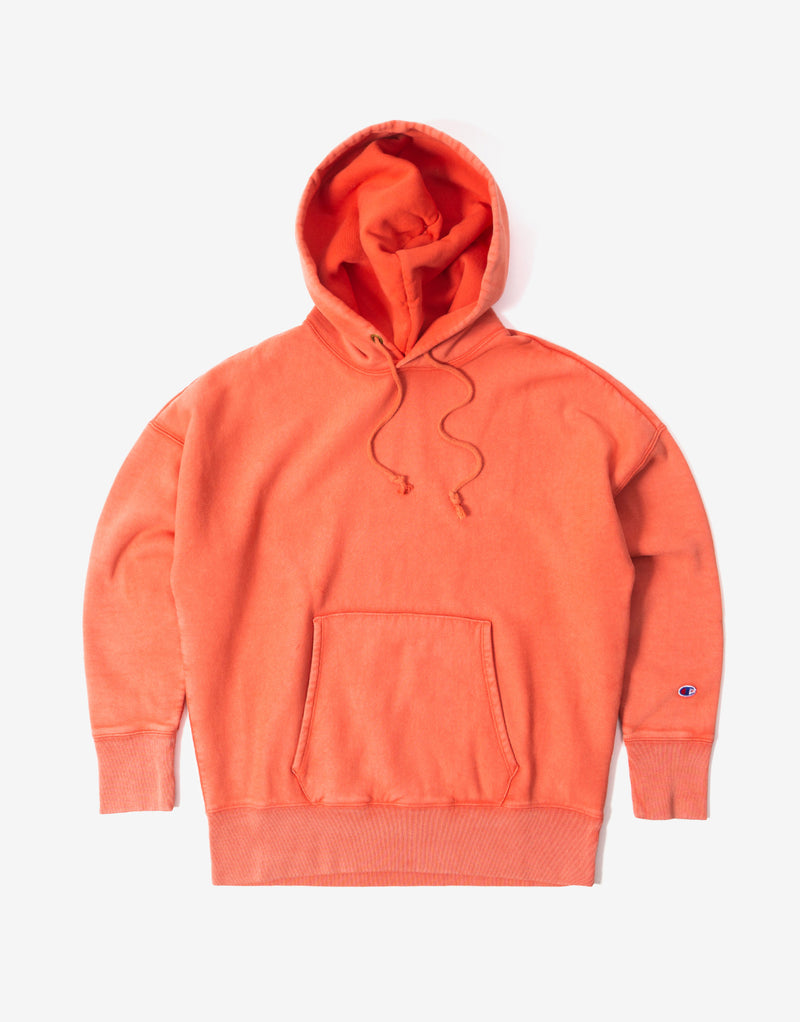 Champion Garment Dye Hoody - Chilli
