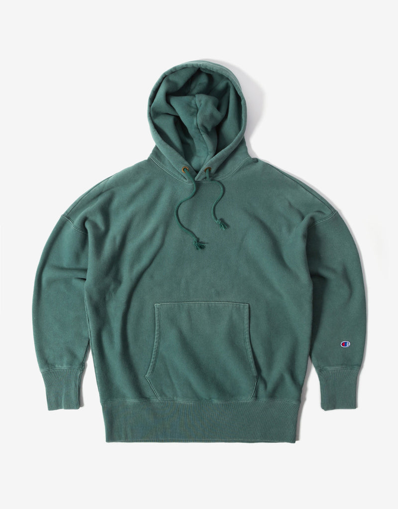 Champion Garment Dye Hoody - Green