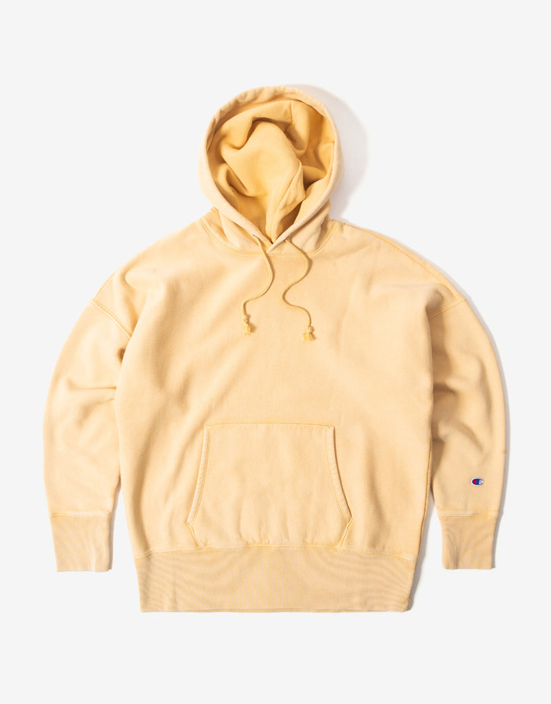 Champion Garment Dye Hoody - Tan