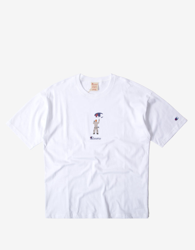Champion Painter Graphic T Shirt - White