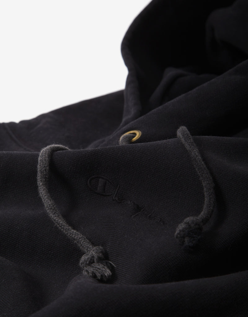 Champion Reverse Weave Hoody - Black