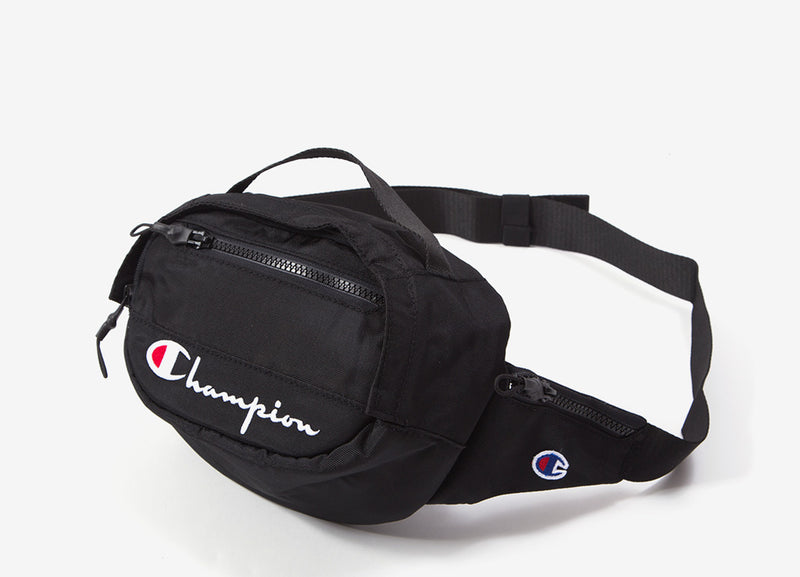 Champion Script Belt Bag - Black