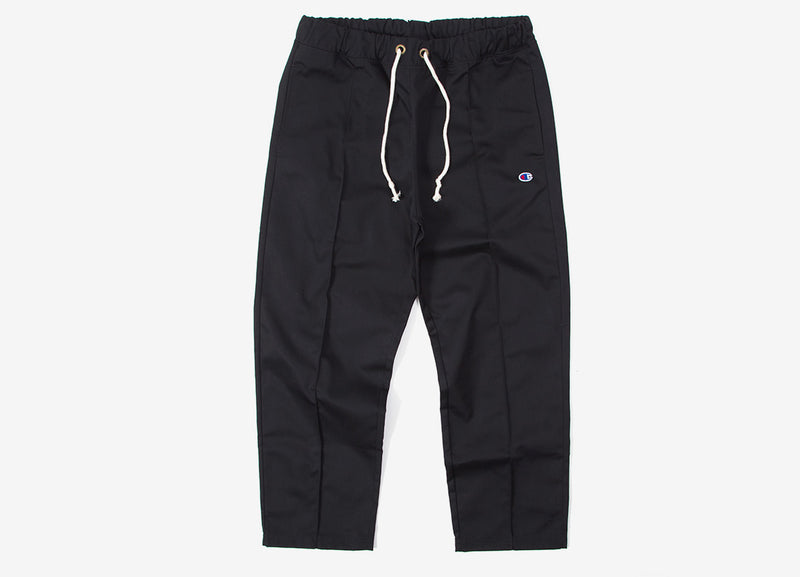 Champion Straight Hem Pants - Black
