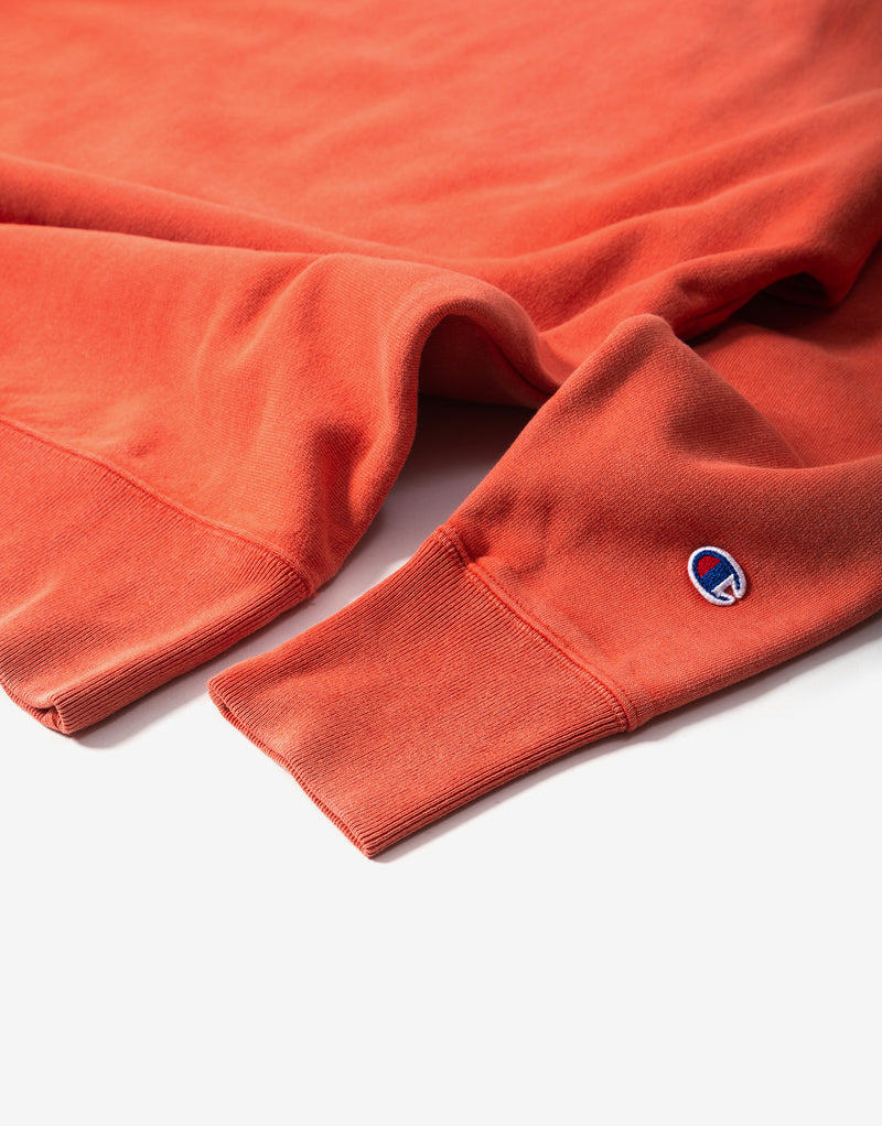 Champion Garment Dye Sweatshirt - Chilli