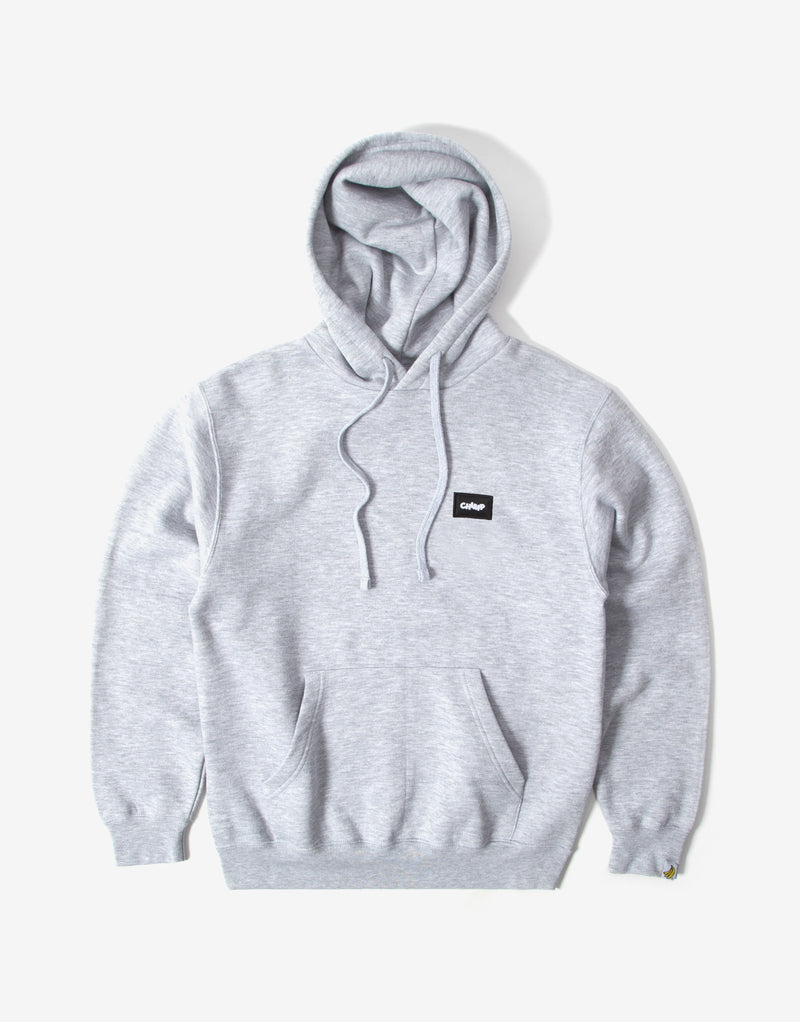 Chimp Athletic Badge Hoody - Light Oxford Grey