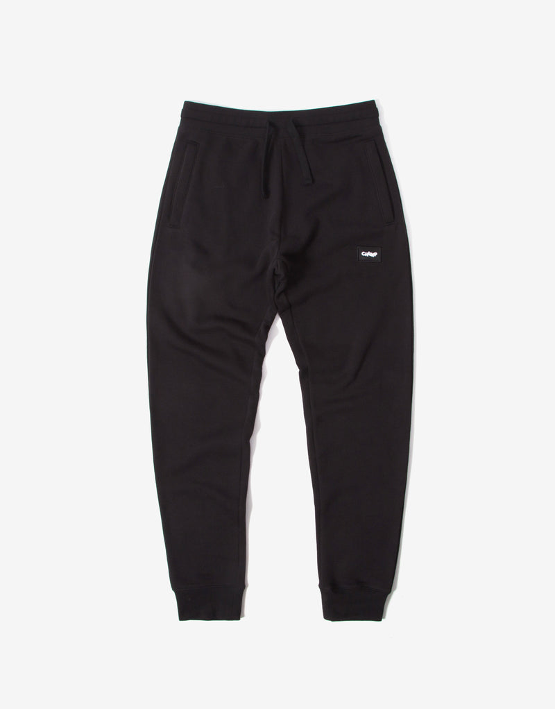 Chimp Athletic Badge Sweatpants - Black