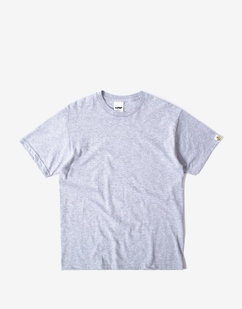 Chimp Heavyweight Premium Basic T Shirt - Heather Grey
