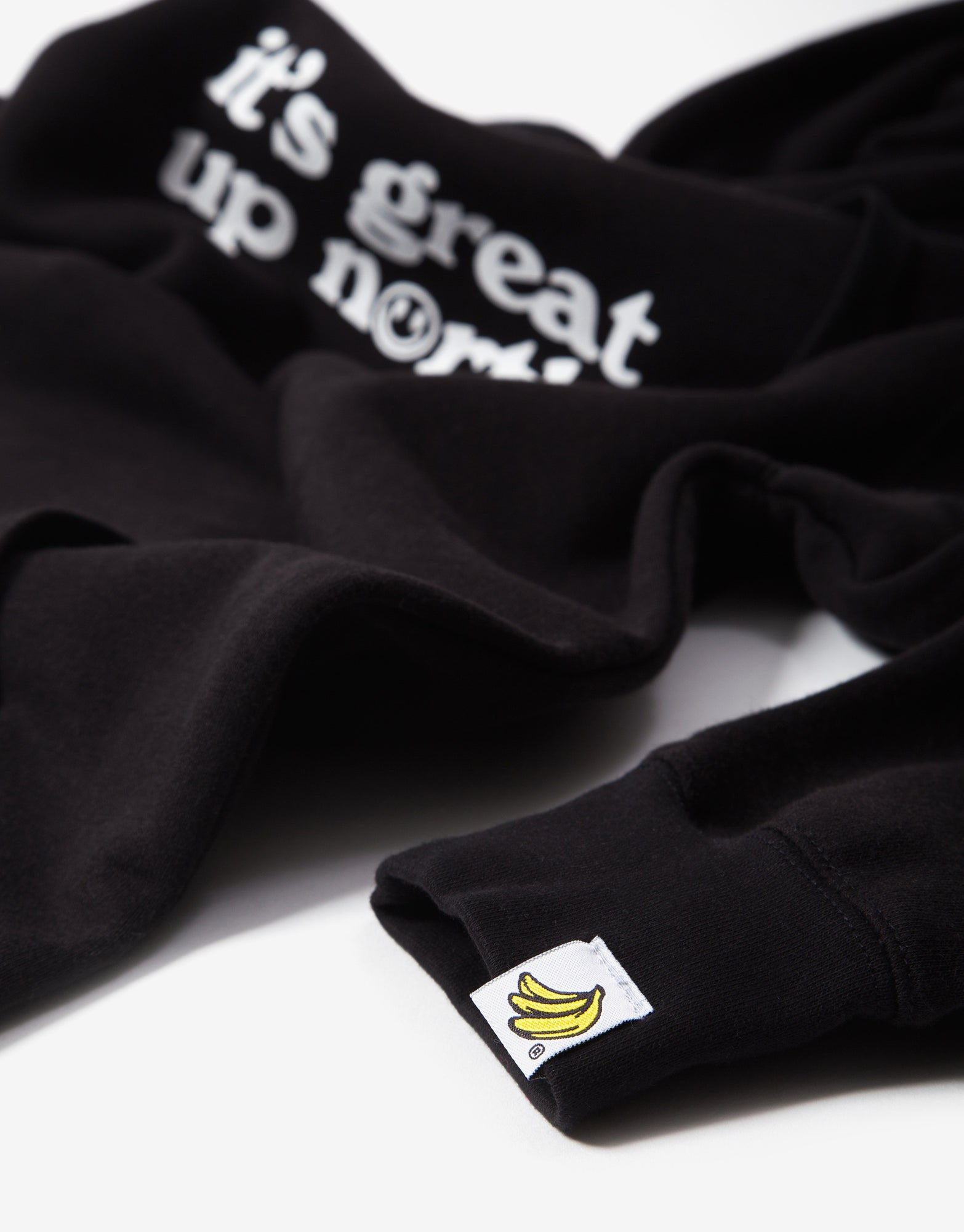 Chimp It's Great Up North Hoody - Black