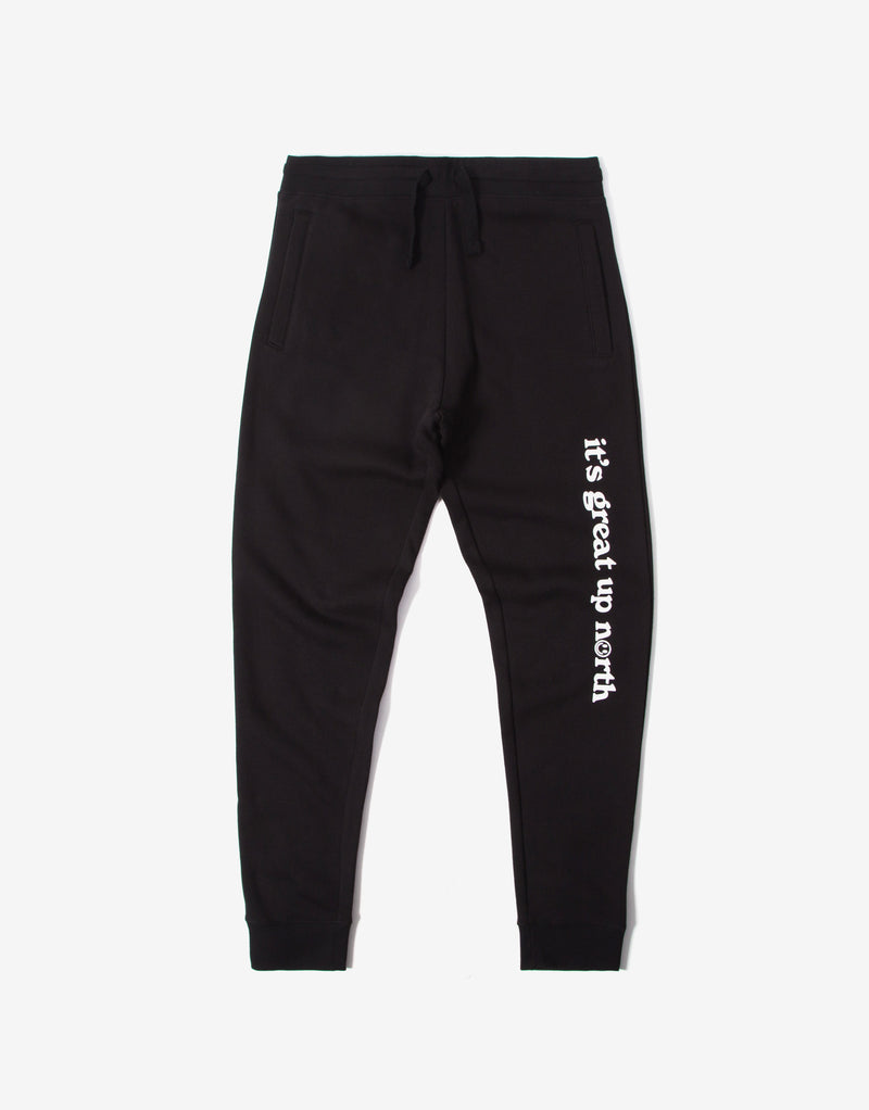 Chimp It's Great Up North Sweatpants - Black