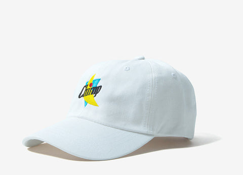 Chimp Abstract 6 Panel Dad Cap - White