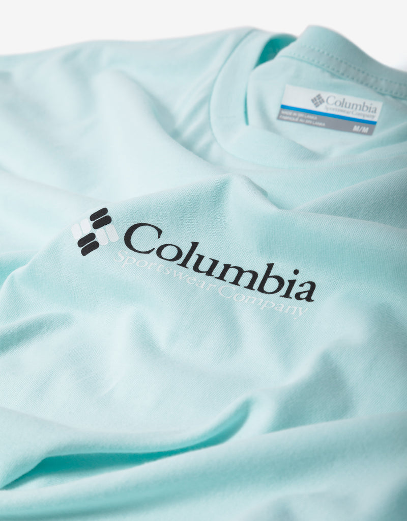 Columbia CSC Basic Logo T Shirt - Skylit Retro