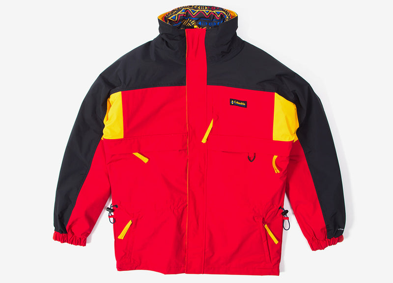 Columbia Gizzmo Interchange Parka - Mountain Red